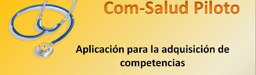 Imagen promocional de la app Com-Salud Piloto